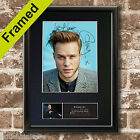 OLLY MURS #2 Signed Autograph Quality Mounted FAN CLUB Photo PRINT A4 No601