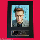 OLLY MURS No2 Signed Autograph Quality Mounted FAN CLUB Photo PRINT A4 No601