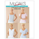 McCall's 2818 OOP Sewing Pattern to MAKE Classic Fit Tops w/ Button Back