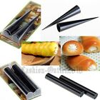 Non-Stick Pastry Dessert Cannoli Form Puff Tubes Cores Tool Croissant Cake Mould
