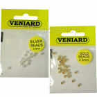Veniard Gold and Silver Beads for Fly Tying and Craft