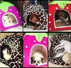 5 Color Pet Dog Cat Warm Bed Puppy Soft Cushion Pad Kennel Nest Cozy House S-XXL