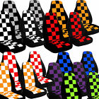 2002 to 2006 Mini Cooper Checkered Seat Covers Airbag Friendly Choose Your Color