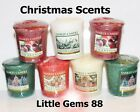 YANKEE CANDLE VOTIVE MORE ** CHRISTMAS SCENTS ** YOU PICK * 15 HOUR CANDLE