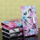 Pretty For iPhone 4G 4S Flower Magnetic Leather Flip Wallet Pouch Case Cover