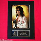 ALICE COOPER Signed Autograph Mounted Photo REPRODUCTION PRINT A4 64