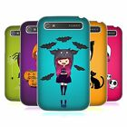HEAD CASE DESIGNS SPOOKY BEANIES HARD BACK CASE FOR BLACKBERRY PHONES