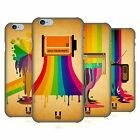 HEAD CASE DESIGNS COLOUR DRIPS HARD BACK CASE FOR APPLE iPHONE PHONES