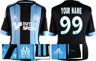 *15 / 16 - ADIDAS ; MARSEILLE AWAY SHIRT SS / PERSONALISED = SIZE*
