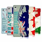 HEAD CASE DESIGNS FLAGS AND LANDMARKS HARD BACK CASE FOR SONY PHONES 1