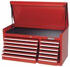 Proto J444119-12RD 41L X18D X 19H Red 12-Drawer Chest