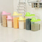 Plastic Kitchen Food Cereal Grain Bean Rice Storage Container Box Storage Case