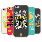 HEAD CASE DESIGNS LIFE AND LEMONS GEL CASE FOR APPLE iPHONE PHONES
