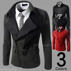 New Stylish Mens Casual Slim Fit Winter Hoodie Coat Jacket Zip Sweats Outerwear