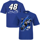2016 JIMMIE JOHNSON #48 LOWES YOUTH RACER NASCAR COTTON TEE SHIRT