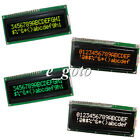 16x2 LCD1602A Dot Matrix LCD Module Black Background White/Green/Orange/Yellow