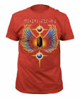 T-Shirts Sizes S-2XL New Authentic Journey Hits Heather Red T-Shirt