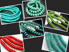 """6MM,8MM,10MM,11MM,12MM Beautiful Turquoise abacus-bead Loose Beads 16"""" T0007-2"""
