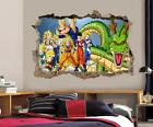 Dragon Ball Z Wall Decal Removable Wall Sticker Mural Goku Vegeta Shenron H189