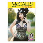 McCall's 7339 Paper Sewing Pattern to MAKE Cosplay Steampunk Boned Laced Corset