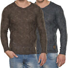 EMIMAY by TAZZIO Herren Strick Pullover Sweat Shirt Slim Fit E.M 15