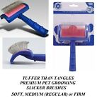 "SHOW TECH PRO PET Grooming""Tuffer Than Tangles""HAIR COAT LONG PIN SLICKER BRUSH"
