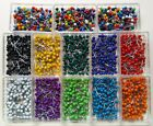 500 Map Tacks Travel Map Pins 100 pin per box CHOOSE COLORS  FREE USA SHIPPING!