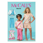 McCall's 7278 Sewing Pattern to MAKE Tops Nightdress Shorts Trousers - Pyjamas