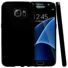 Galaxy S7 Case, Slim & Flexible Anti-shock Crystal Silicone Protective TPU Cover
