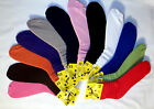 CHOOSE YOUR COLORS    Ladies Slouch Socks 9-11 - FREE SHIPPING