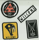 WELCOME -  Sew on Skateboard Patch - Assorted Styles