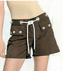 Fashionista NWT $109 Techno  Rope Belted Shorts  10