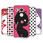 HEAD CASE DESIGNS CATS AND DOTS HARD BACK CASE FOR LG NEXUS 5X