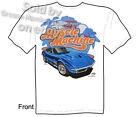 C3 1968 1969 Corvette T Shirt 427 Stingray Tee Muscle Machine Chevy M L XL 2X 3X