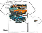 55 56 57 Chevy T Shirts 1955 1956 1957 Chevrolet Apparel Classic Car Tee BelAir