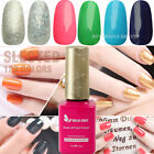 Hot Nail Art 15ml Color Soak Off Polish Glitter Gel Tips Decoration LED Lamp 02