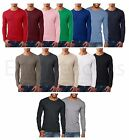 Next Level - UNISEX Thermal Premium Long Sleeve T-Shirt Basic Plain Tee 8201