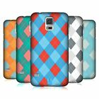 HEAD CASE DESIGNS ARGYLE HARD BACK CASE FOR SAMSUNG GALAXY S5 S5 NEO