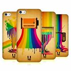 HEAD CASE DESIGNS COLOUR DRIPS HARD BACK CASE FOR APPLE iPHONE 5C
