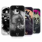 HEAD CASE DESIGNS CATS OF GOTH SOFT GEL CASE FOR HTC ONE M8