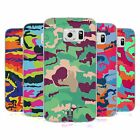 HEAD CASE DESIGNS COLOURFUL CAMOUFLAGE SOFT GEL CASE FOR SAMSUNG GALAXY S6 EDGE