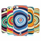 HEAD CASE DESIGNS COLOURFUL TREE RINGS SOFT GEL CASE FOR APPLE iPHONE 5C