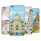 HEAD CASE DESIGNS DOODLE CITIES SERIES 3 GEL CASE FOR APPLE iPHONE 6 6S PLUS