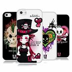 HEAD CASE DESIGNS PUNK COLLECTION SOFT GEL CASE FOR APPLE iPHONE 5C