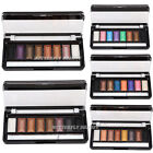 8 Colors Shimmer Glitter Makeup Eyeshadow Palette Warm Nude Neutral Eye Shadow
