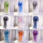 Organza Chair Cover Sash Bow Wedding Party Supplies Back Tie Decoration 275 CM