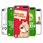 HEAD CASE DESIGNS AFFERMAZIONI COVER RETRO RIGIDA PER APPLE iPOD TOUCH 5G 6G