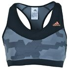 Adidas Kinesics AP BRA Damen Bustier Trainingstop Sport BH Grey/Black AP2105