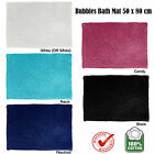 5 Color Choice Quality Bubbles Cotton Floor Bath Mat 50 x 80cm
