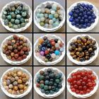 100pcs Wholesale Natural Gemstone Round Spacer Loose Beads Lots 4mm 6mm 8mm 10mm